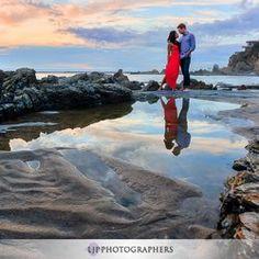 Lin and Jirsa Wedding Photography - Santa Ana, CA, United States. Little Corona in Corona Del Mar Engagement Session