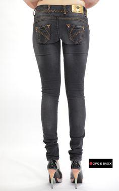 Cipo Baxx Womens Jeans CBW-0483 - CIPO & BAXX - AUSTRALIA