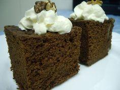 Mis recetas de cocina: BROWNIE EN MICROONDAS