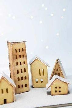 cookie houses.