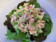 Shelly's Pimento Chicken Salad and a ton of other fav chicken salad recipes. Low carb. High protein. 'Cause that's how I roll ;)