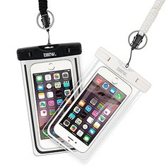 EOTW Waterproof Cell Phone Case Pouch Dry Bag 2 Pack With...