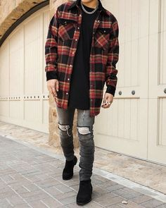 Bad Boy Style, Men's Style, Boy Fashion, Fashion Outfits, Fashion Ideas, Stylish Men, Men Casual, Casual Outfits, Cute Outfits