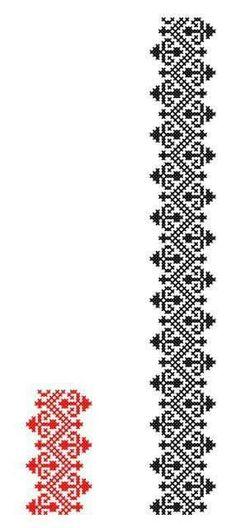 Cross Stitch Borders, Cross Stitch Charts, Cross Stitch Designs, Cross Stitch Patterns, Folk Embroidery, Embroidery Patterns Free, Cross Stitch Embroidery, Embroidery Designs, Diy Friendship Bracelets Patterns