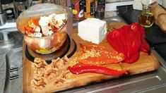 Greek Meze, Guacamole, Dips, Hummus, Cucumber Recipes, Greek Recipes, Clean Eating, Pasta, Veggies