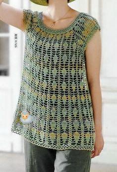 Crochet Sweater: Crochet Tunic Pattern - Gorgeous Lace