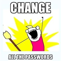 All the things - passwords