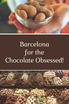 Chocolate-lovers unite! Barcelona is the place for you. For the best chocolate in the city, from sweets to ice cream, check out our guide and you'll have a delicious stay! #bucketlist #destinations #foodie #barcelona #spain #europe
