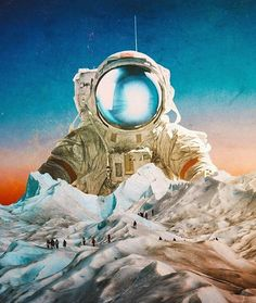 ab0c2be3 Visual Aesthetics, Electronic Music, Outer Space, Jean Michel Jarre,  Statue, Surreal