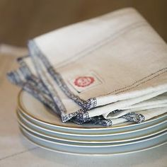 Raw Materials Design - Hardworking linens hand-made in the USA from domestically-sourced 100% cotton