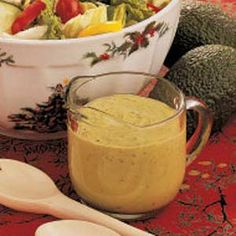 Healthy and Quick Lemon and Avacado Creamy Salad Dressing. Worth a try!