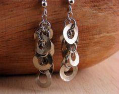 Dangle Earring Drops Hardware Jewelry Industrial Washers Eco Friendly
