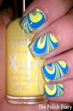 The Polish Diary: Water Marble Success