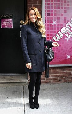 keeping it simple for an appearance on wendy williams #ILoveBlackandNavy