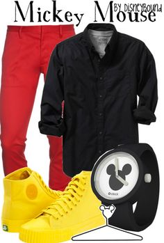 Mickey Mouse by Disney Bound. Fashion Disney Outfit.