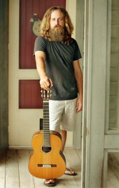Iron & Wine... i play his albums daily