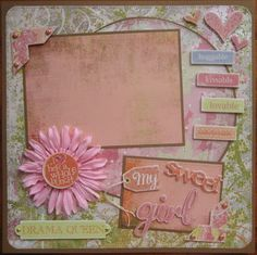 """scrapbook layouts for new baby girl 