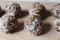 Raw Hazelnut, Chia & Coconut Energy Bites