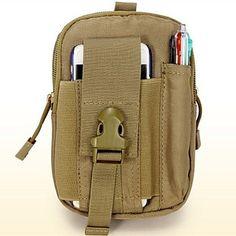 D30 Tactical Molle Waist Bags Men's Outdoor Sport Casual Waist Pack Purse Mobile Phone Case - GBP £ 8.03