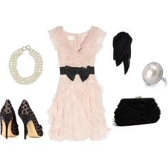 Floaty and feminine with a little edge...