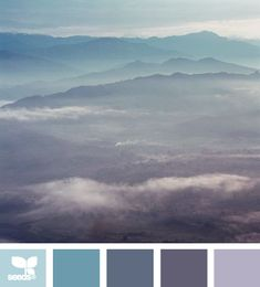 tonal view from design-seeds. This looks like a super relaxing bedroom for our new home Design Seeds, Paint Schemes, Colour Schemes, Color Combos, Color Concept, Color Palate, Color Swatches, My New Room, House Colors