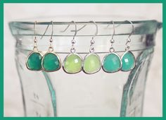 Lookie ... It's Spring at Chick's Picks March 14-17! Just Beautiful! Turquoise and Green Earrings.