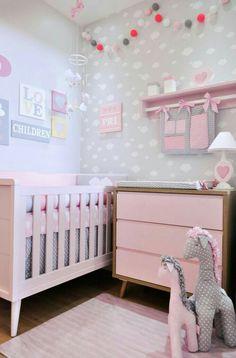 21 Ideas para decorar el cuarto del bebé que viene en camino | Bebes ...