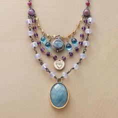 Poseidon's Treasures Necklace   Robert Redford's Sundance Catalog