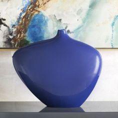 Brayden Studio Alveston Table Vase Color: Cobalt