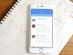 Notmi - iOS App Design by Rosina