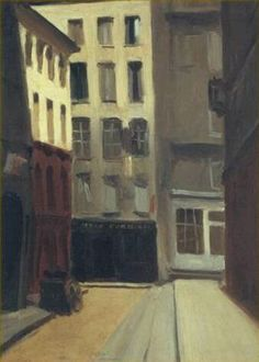 Paris Street, 1906, Edward Hopper