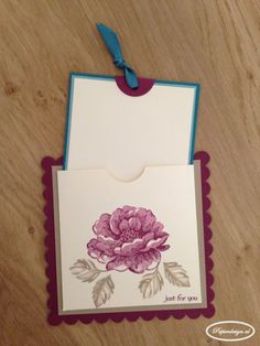 Paper Design with Stampin 'Up: Challenge Card