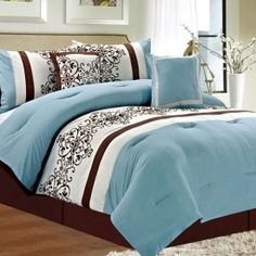 Comforter set from Anna's!