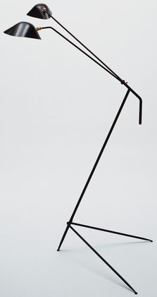 Serge Mouille. Floor Lamp. c. 1950