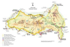 Map of the Brecon Beacons