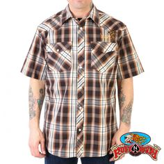 For my husband on pinterest rockabilly guys motorcycles for Awesome button down shirts