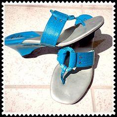 4a6a4b3503b0 ⚡️BOGO 1 2 off⚡️HP Life Stride blue wedge sandals Gorgeous Life Stride