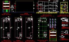 Bank office building architecture layout plan details dwg file - Cadbull Architecture Layout, Office Building Architecture, Banks Office, Banks Building, Building Layout, Waiting Area, Reception Areas, Autocad, Front Desk