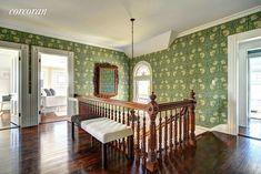 Dick Cavett's Shingle-Style Summer Cottage in Montauk - Hooked on Houses Cottage Design, House Design, Stanford White, Park In New York, Entry Hall, Celebrity Houses, Style Summer, Vestibule, Mansions