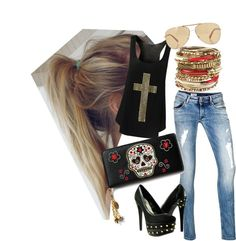 """""""Rock Style"""" by amaro-wolf on Polyvore"""