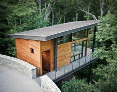 John Senhauser Architects: Walnut Woods Studio