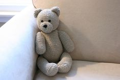 Every child should have a knitted teddy bear at some stage in their life. This is a quick and easy knitting project that is suitable for beginners.