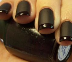 photo from source link below.  OMG! I am loving this cool and chic design for your nails. Looks super cool and very pretty! I totally wanna try this out one