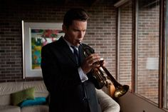 Review: Born to Be Blue Portrait of a Trumpeter as a Heroin Addict from STEPHEN HOLDEN at the New York Times. #movies