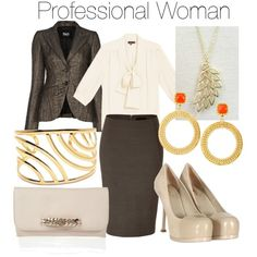 """The Professional Business Woman"" by shopheartandheart on Polyvore"