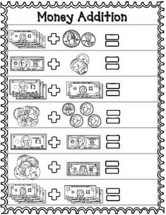 money worksheets for 2nd grade teachers pay teachers my store school worksheets 2nd grade. Black Bedroom Furniture Sets. Home Design Ideas