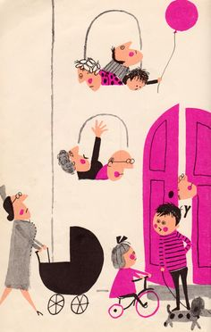 my vintage book collection (in blog form).: This is the House Where Jack Lives - illustrated by Aliki