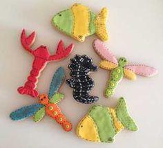 ciasteczka morskie żyjątka