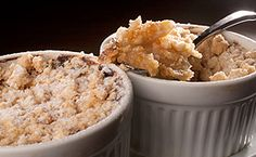 Crumble de maçã - Veja como preparar a deliciosa sobremesa.