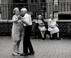 I want to be like that years from now. Still in love, still filled with joy. Seize the moment.